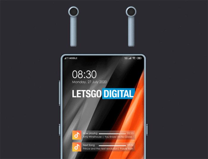 Xiaomi запатентовала смартфон со встроенным TWS-наушниками