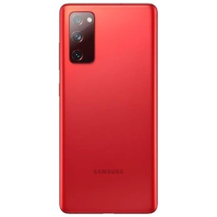 Samsung Galaxy S20 FE красный
