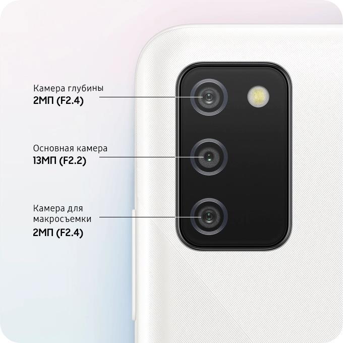 камера Samsung Galaxy A02s