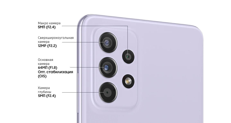 камера Samsung Galaxy A52 4/128GB